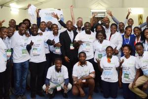 Social Reporting at the 7th Africa Agriculture Science Week (AASW7)