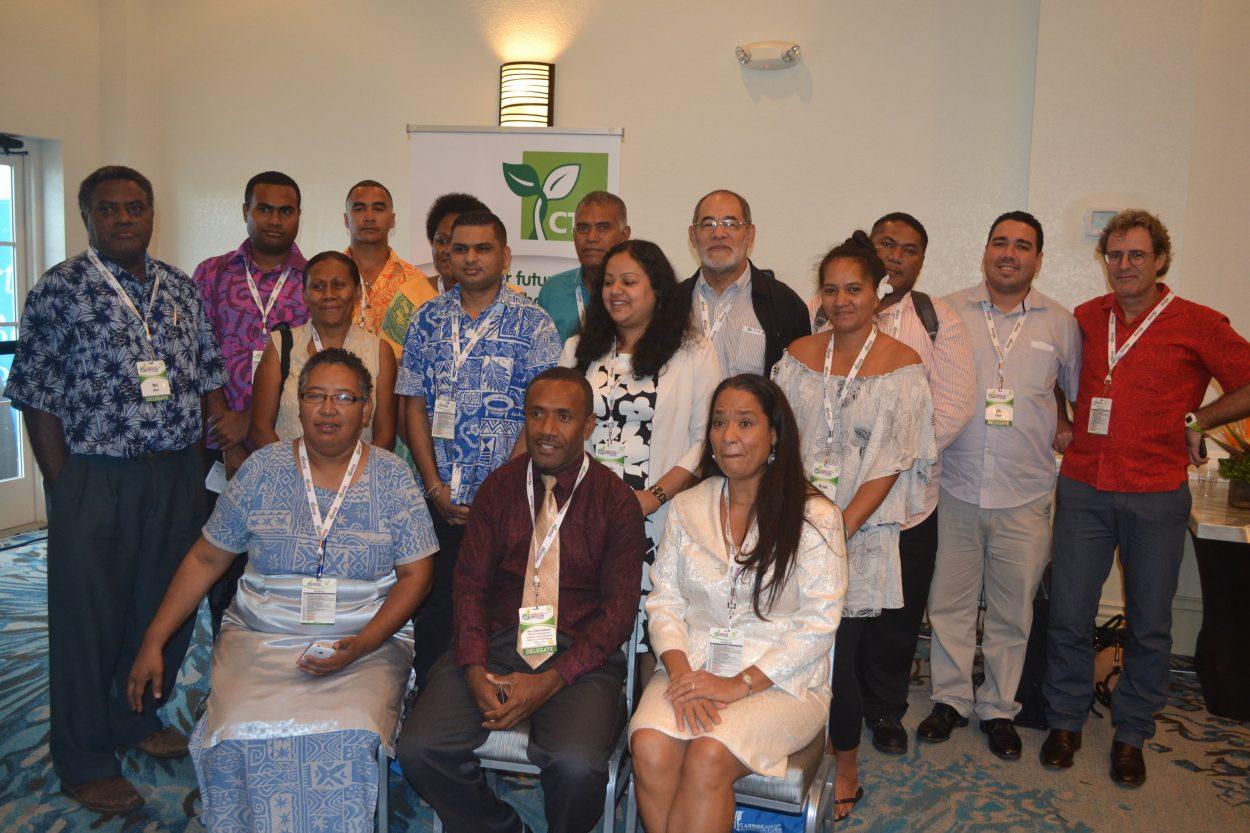 Pacific delegtes